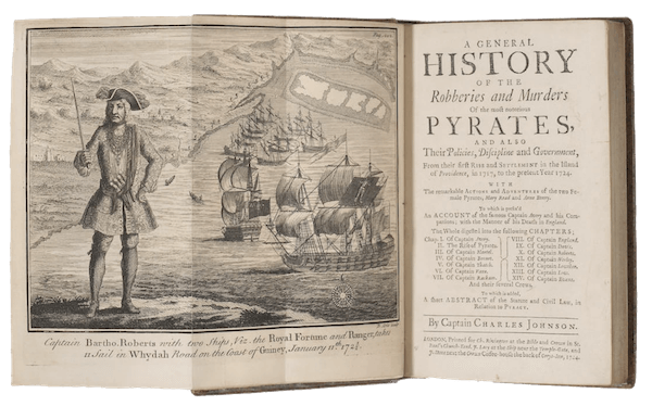 A General History of the Pyrates Second Edition (1724)