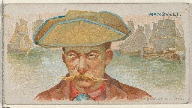 Edward Mansvelt - Pirates of the Spanish Main (1888)