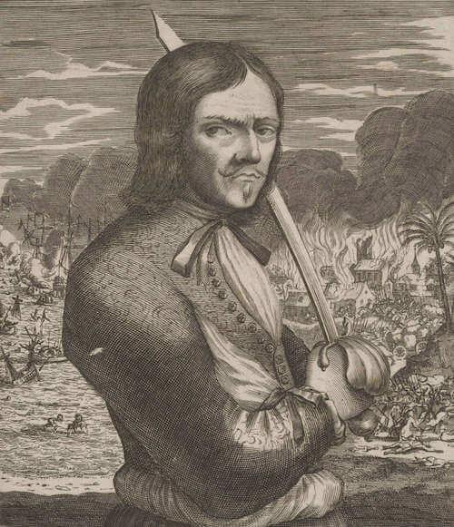 Francois L'Ollonais - De Americaensche zee Roovers (1678)