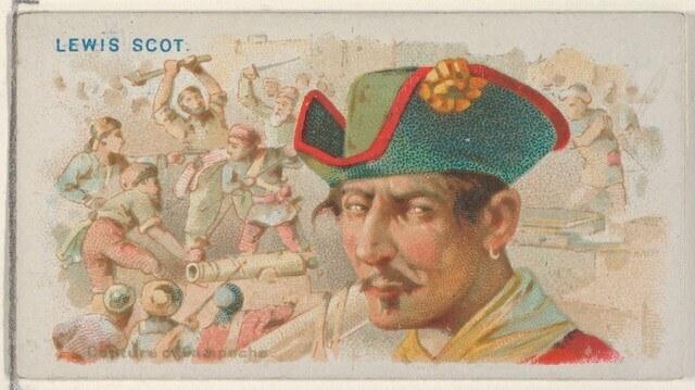 Lewis Scot - Pirates of the Spanish Main (1888)