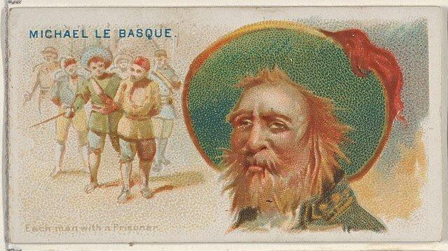 Michael le Basque - Pirates of the Spanish Main (1888)