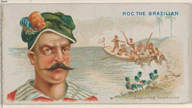 Roc the Brazilian - Pirates of the Spanish Main (1888)