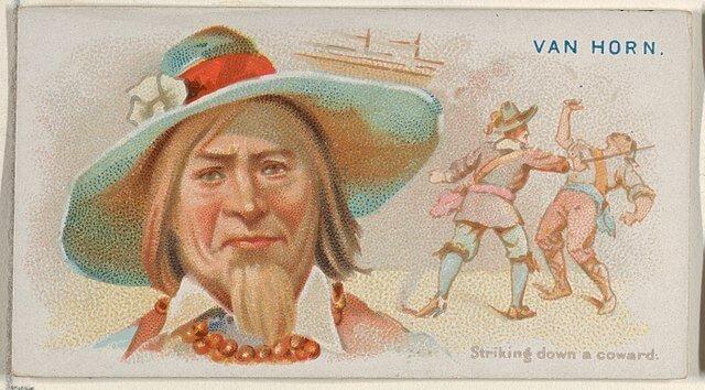 Nikolaas van Hoorn - Pirates of the Spanish Main (1888)