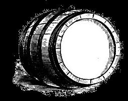 Edward 'Blackbeard' Teach - Rum and Wine Barrel