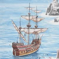 Pirate Ships - Golden Hind