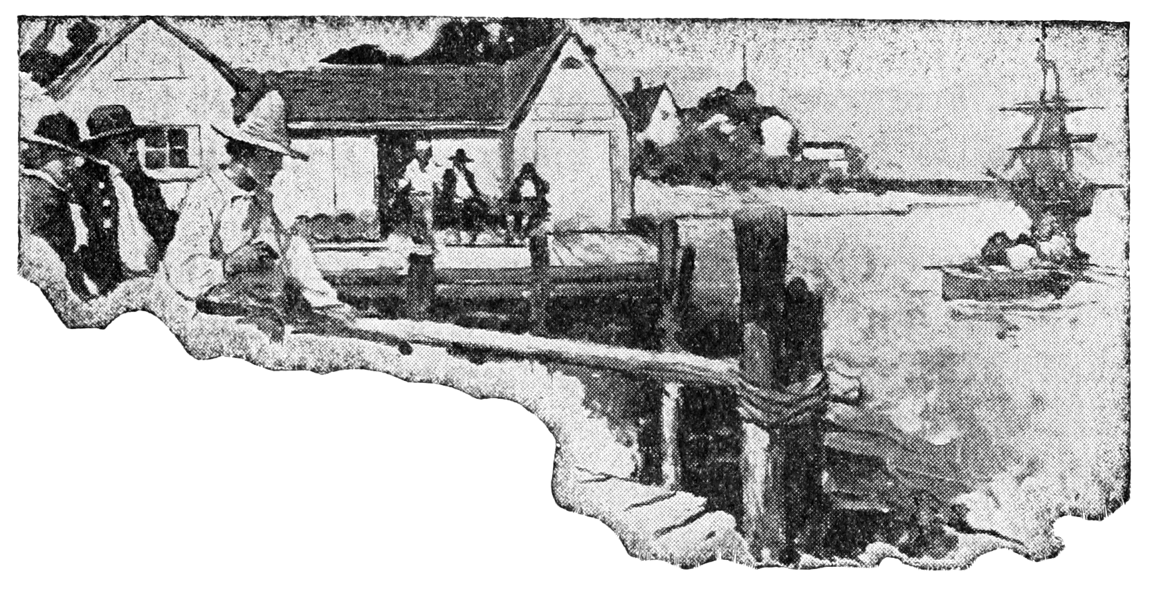 Charles Town - Blackbeard, Buccaneer (1922)