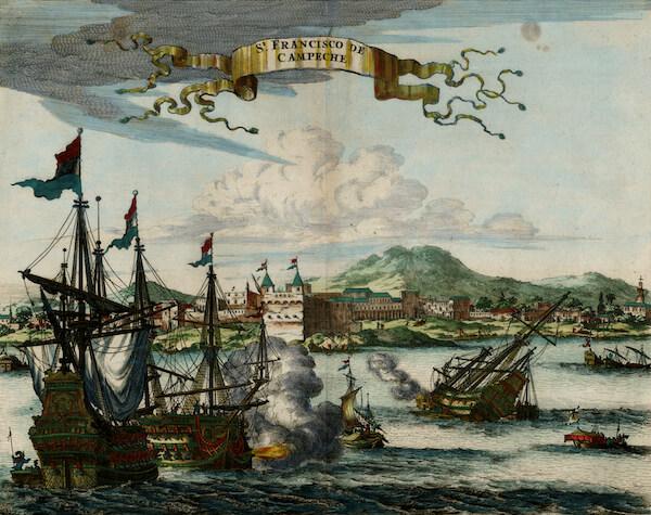 St. Francisco de Campeche - John Ogilby (1671)