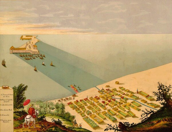 Veracruz - Johannes Vingboons (1660)