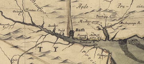 Bath - Edward Moseley (1737)