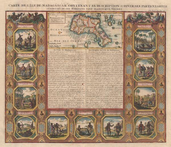 Madagascar - Henri Chatelain (1719)