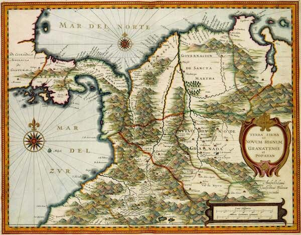 Terre Firma - Atlas van der Hagen (c. 1630)