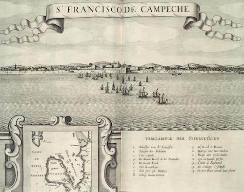 St. Francisco de Campeche - Elsevier (1644)