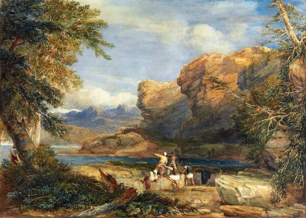 David Cox - Pirates Isle (1826)