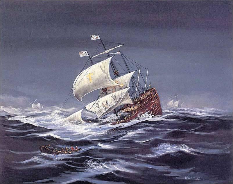 Samuel Bellamy - The Urca de Lima (William Trotter)