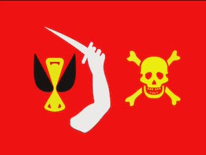 Pirate Flags - Red Pirate Flag