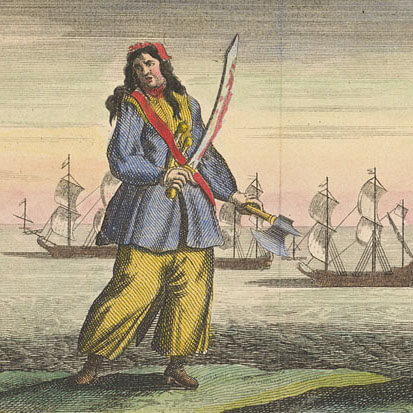 Anne Bonny - A General History of Pyrates (1724)