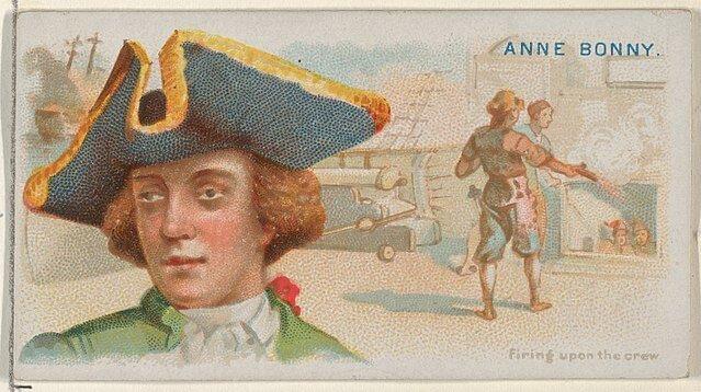 Anne Bonny - Pirates of the Spanish Main (1888)