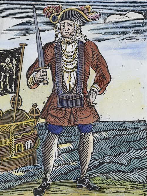 Bartholomew Roberts - A General History of Pyrates (1725)