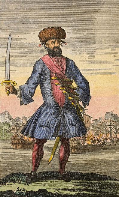 Edward 'Blackbeard' Teach - Blackbeard the Pirate