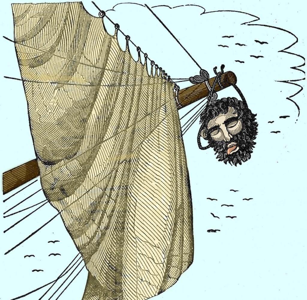 Blackbeard's Head - The Pirates Own Book (1837)