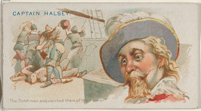 Captain Halsey - Pirates of the Spanish Main (1888)