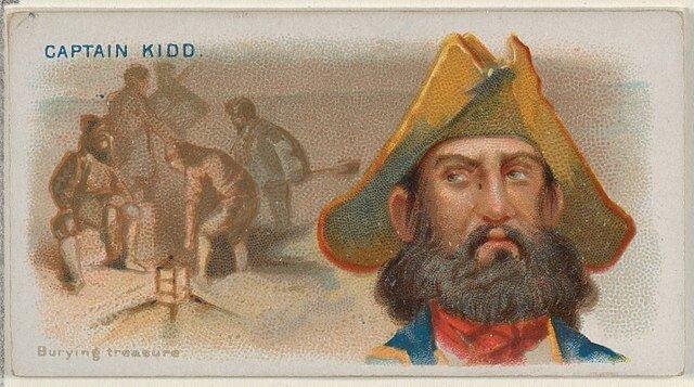 Captain Kidd - Pirates of the Spanish Main (1888)
