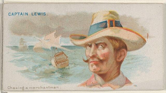 Captain William Lewis - Pirates of the Spanish Main (1888)