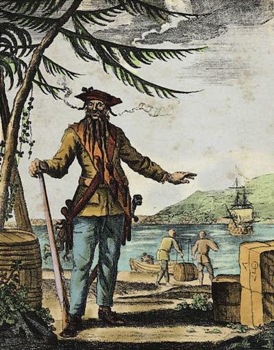 Edward 'Blackbeard' Teach - Edward Blackbeard Teach (1736)