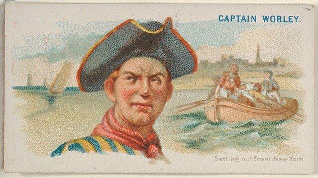 Richard Worley - Pirates of the Spanish Main (1888)