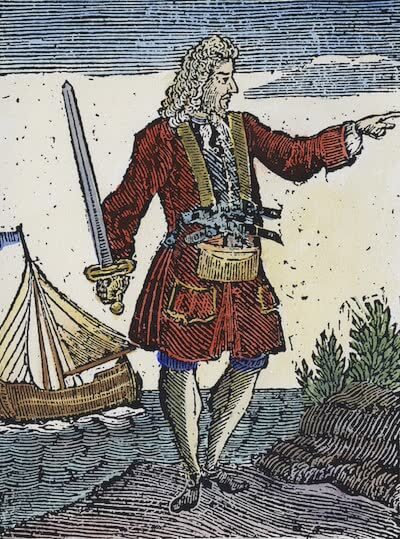 Charles Vane - A General History of the Pyrates (1725)
