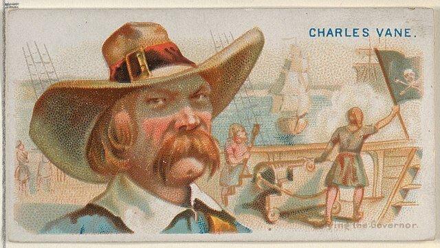 Charles Vane - Pirates of the Spanish Main (1888)