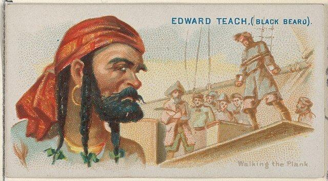 Edward 'Blackbeard' Teach - Pirates of the Spanish Main (1888)