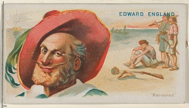 Edward England - Pirates of the Spanish Main (1888)