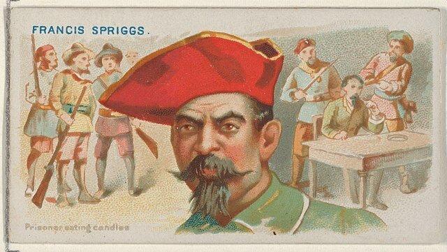 Francis Spriggs - Pirates of the Spanish Main (1888)