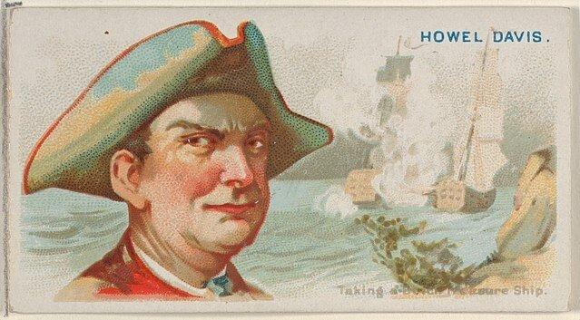 Howell Davis - Pirates of the Spanish Main (1888)
