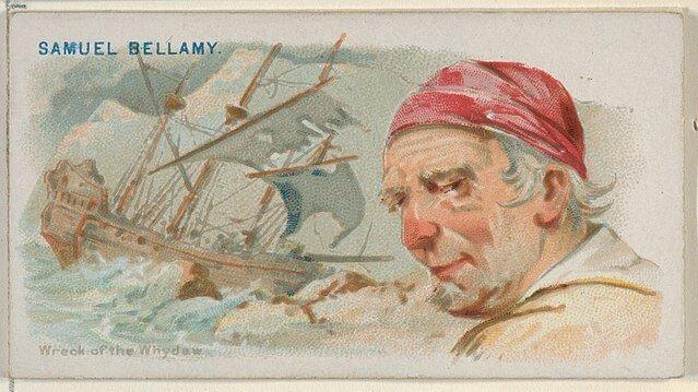 Samuel Bellamy - Pirates of the Spanish Main (1888)