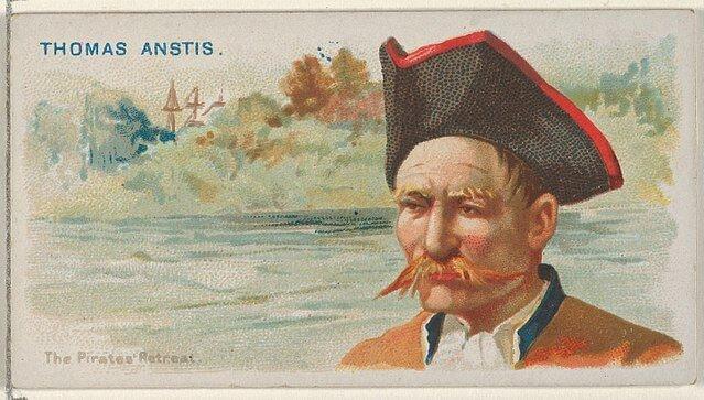 Thomas Anstis - Pirates of the Spanish Main (1888)