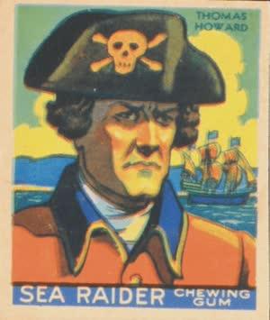 Thomas Howard - Thomas Howard (Sea Raiders Chewing Gum Cards - 1933)