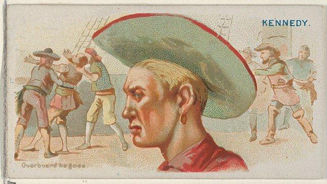 Walter Kennedy - Pirates of the Spanish Main (1888)