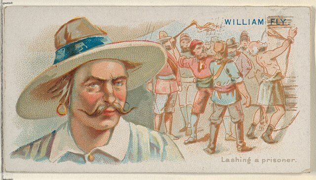 William Fly - Pirates of the Spanish Main Trading Cards (1888)